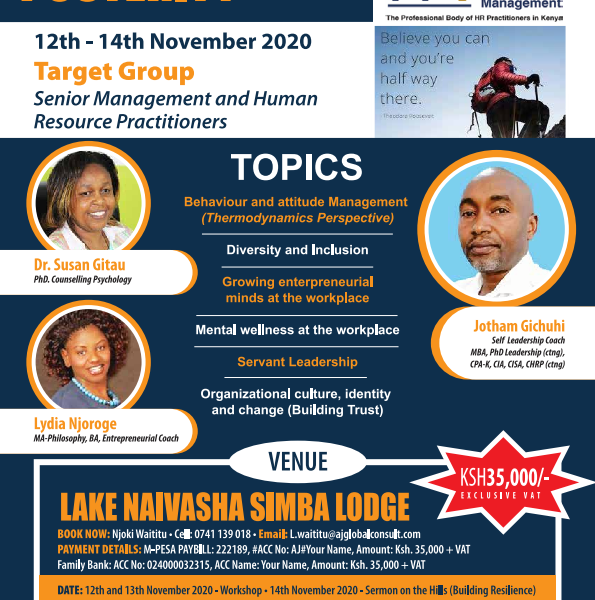 4 CPD POINTS- SIMBA LODGE WORKSHOP
