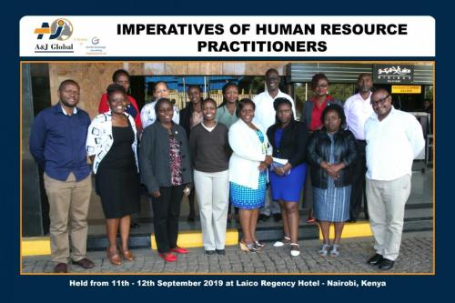 HR Training at LAICO